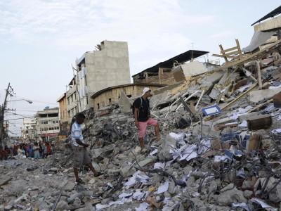 Help mee, doneren Ecuador aardbeving