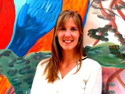 Miranda Mosch is onze vrijwilligerscoördinator