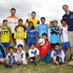 Sport volunteer work South-America