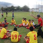 Sport volunteer work South-America