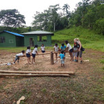 Amazon volunteer project in South-America