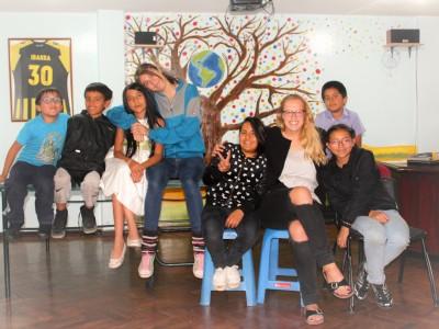 German volunteer Lara about her cultural exchange in Ecuador