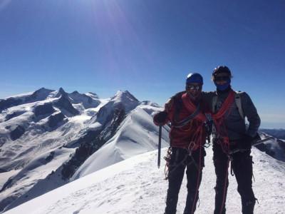 bergen beklimmen voor het goede doel