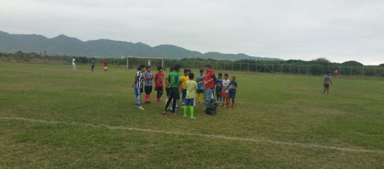 Soccer school Puerto Lopez