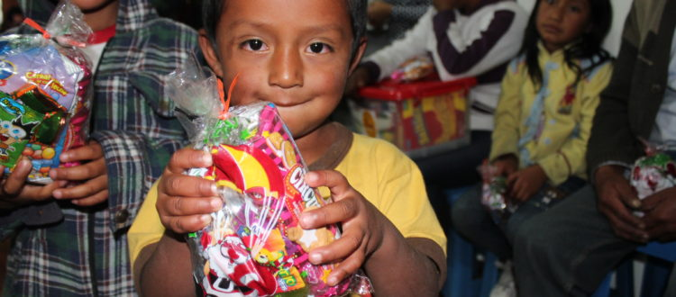 Kerstactie in Ecuador