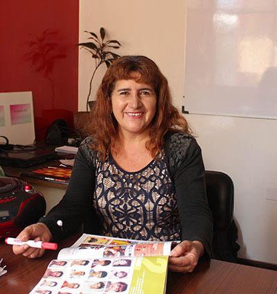 Onze Spaans docent Mónica Machuca