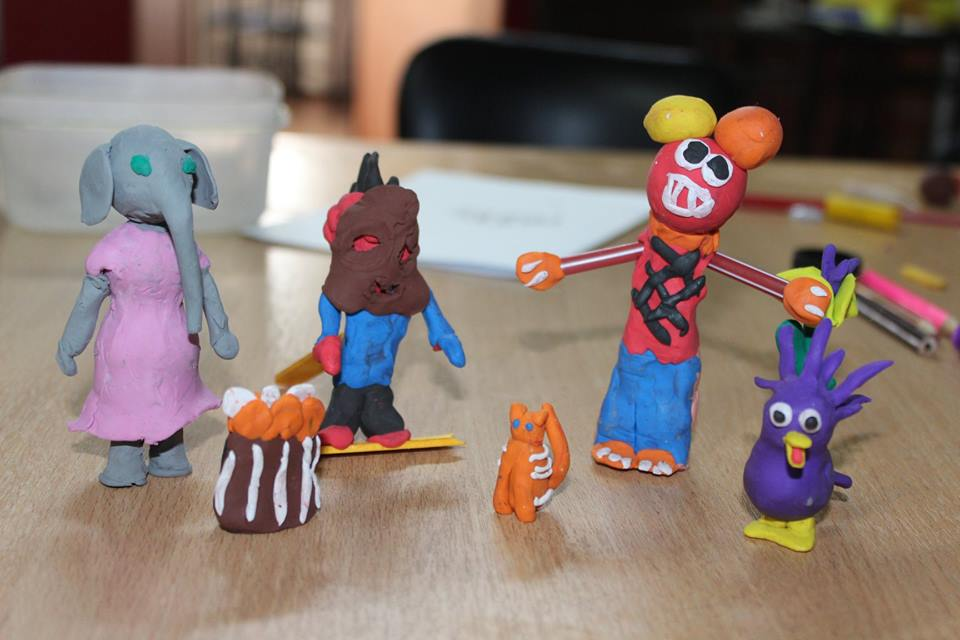stop-motion workshop in Quito