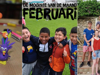 In februari startten we met een workshop stop-motion