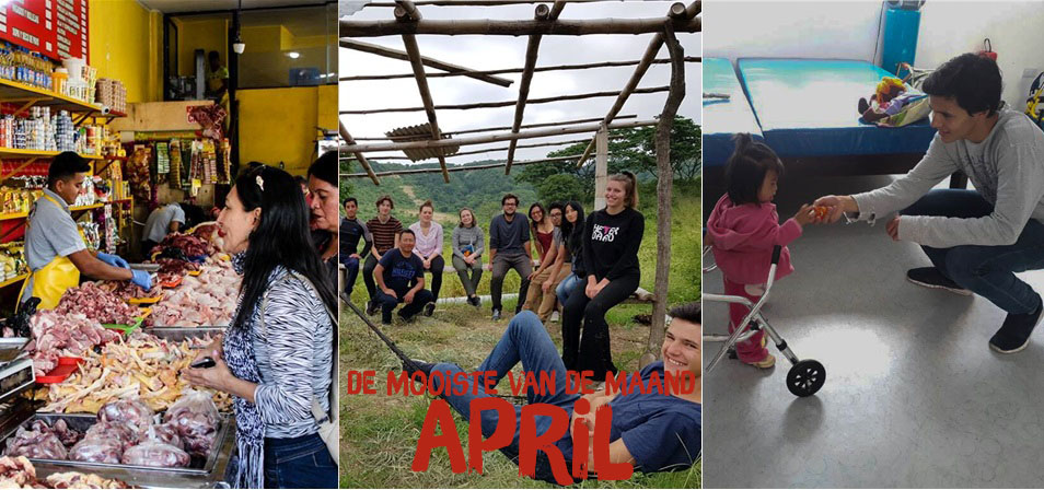 de mooiste foto's van de crowdfunding in april