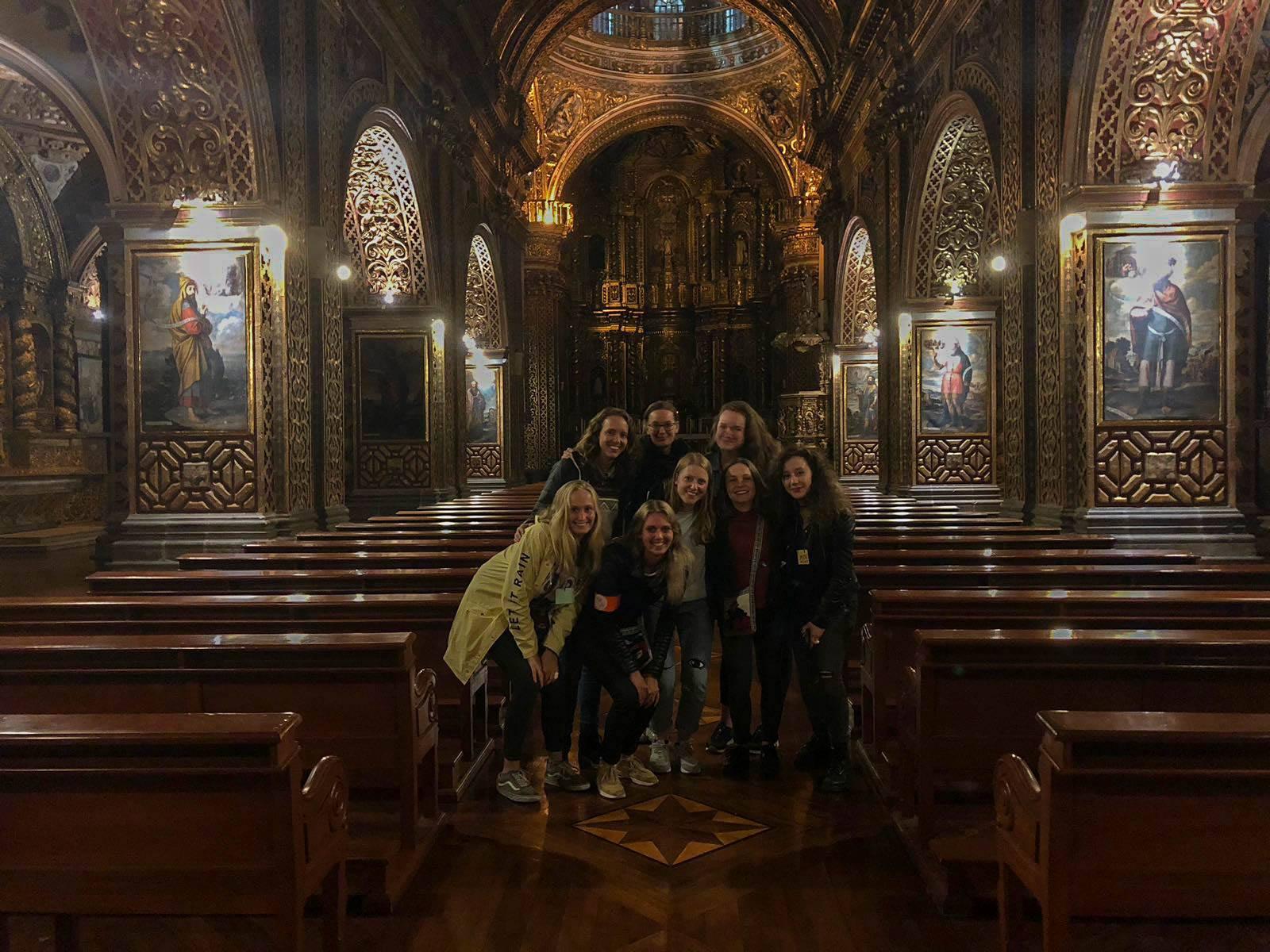 vrijwilliger quito ecuador museumnacht