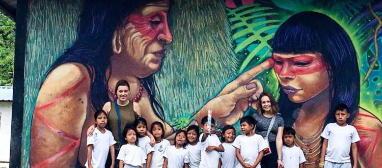 vrijwilligerswerk in de amazone in ecuador
