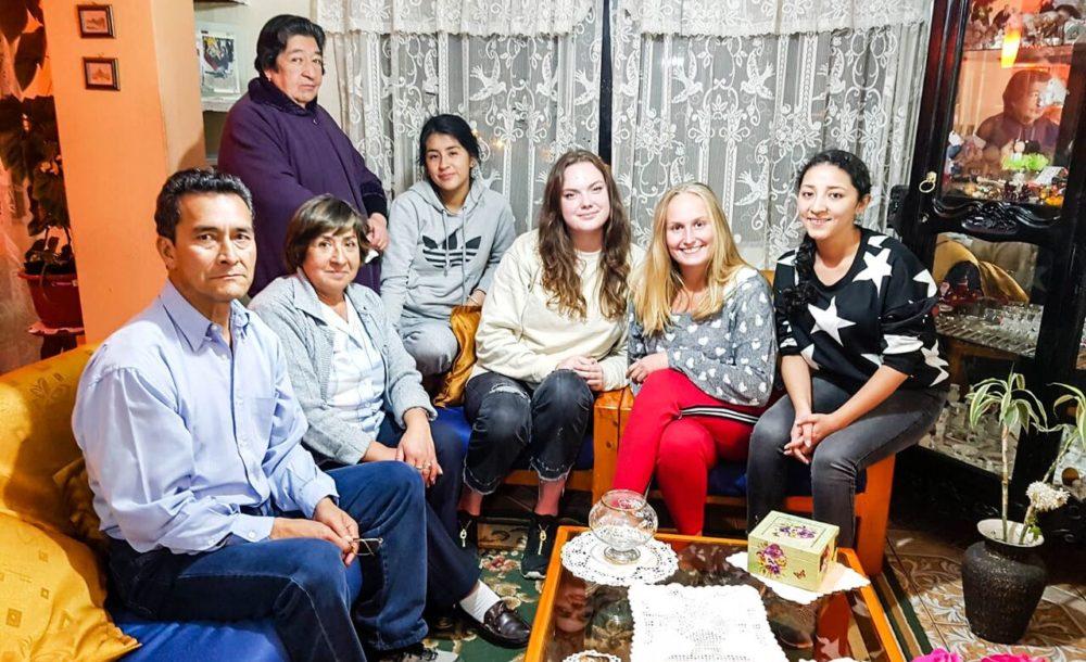 Familia anfitriona Alberca Ludeña