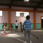 Hockey school in Ecuador