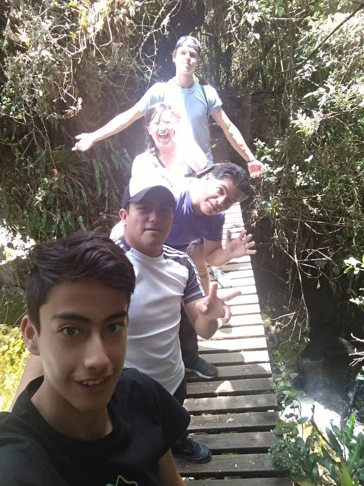 Volunteer host family Quito