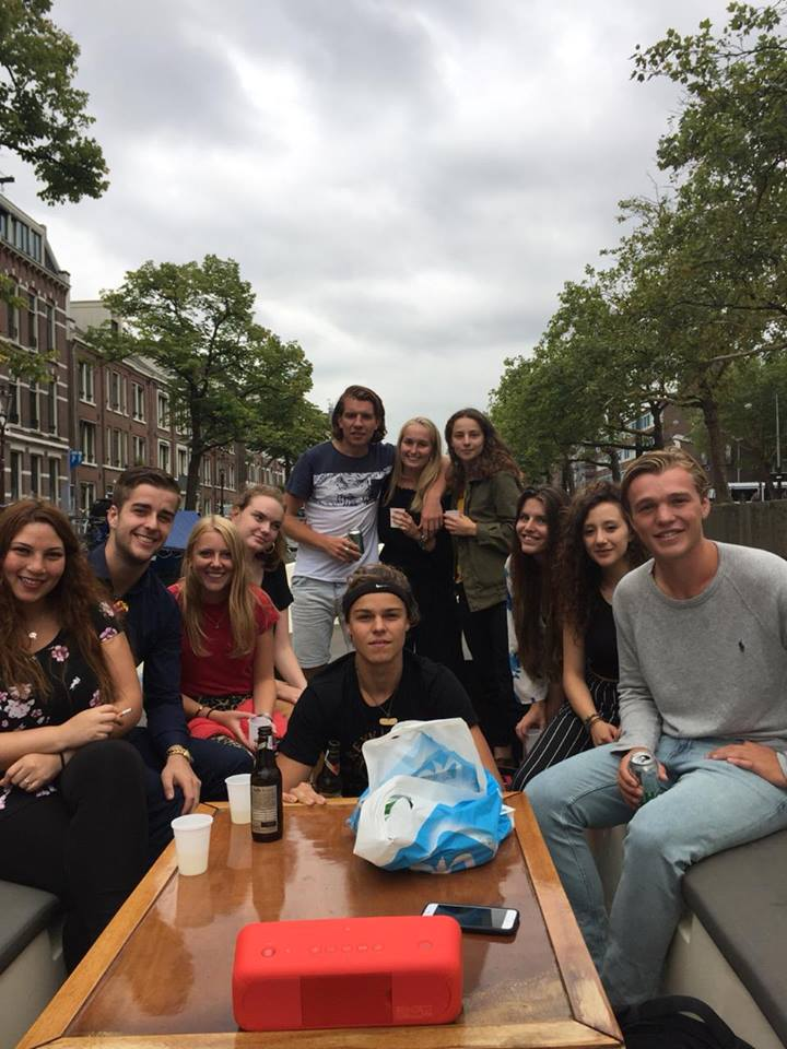 reünie in Amsterdam