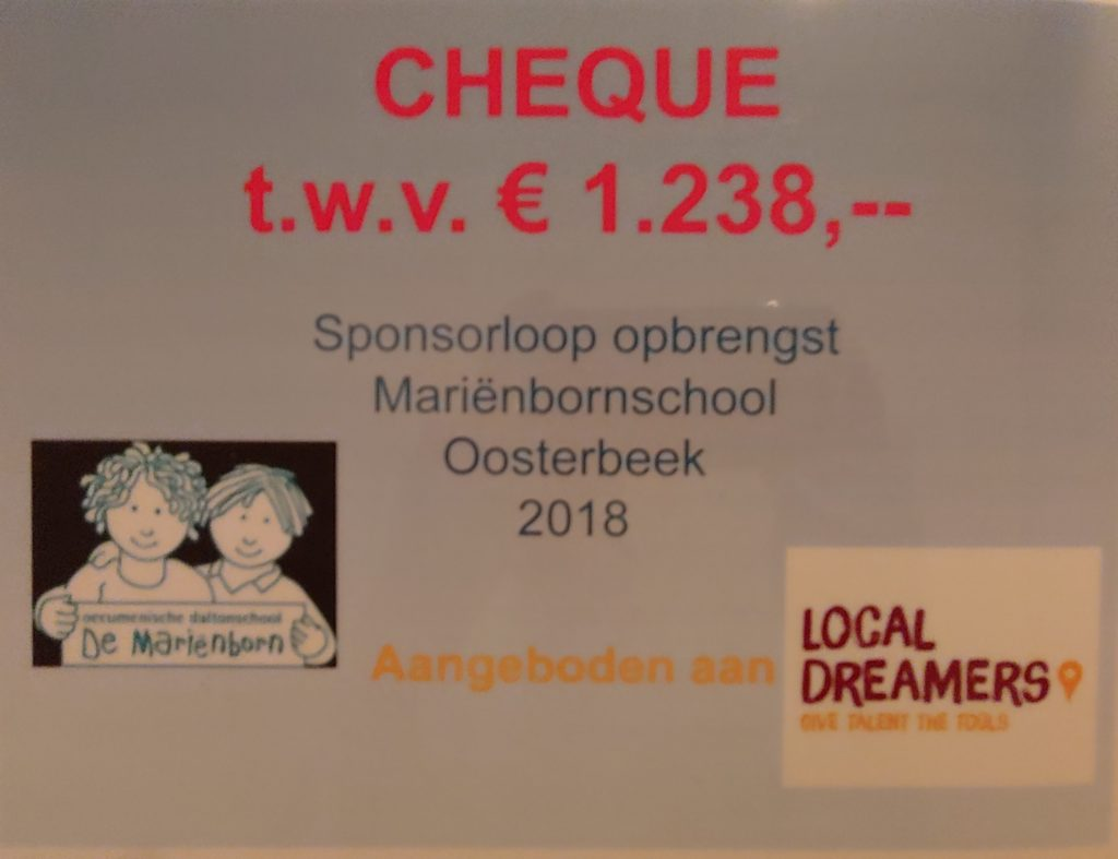 sponsorloop in Oosterbeek