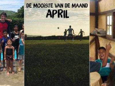 De mooiste van april
